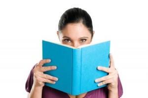 Face in Book