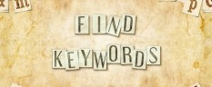 Find Keywords with These Secret Sources