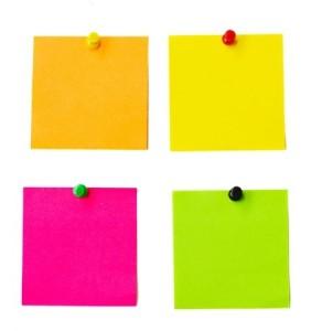 Multicolored Paper Stickers