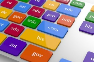 Domain Name Buttons