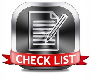 Check List Button