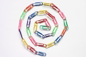 Colourfull Paperclips