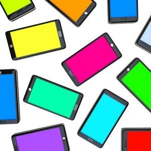 Coloured Phones