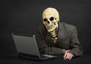 Skeleton Laptop