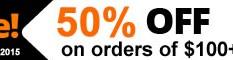 Black Friday 2015 Sale – 50% OFF!