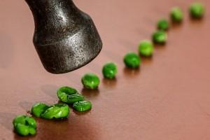 Hammered Peas