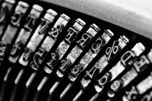 Typewriter Types