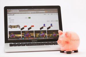 Piggy Bank Laptop
