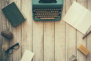 Typewriter Desk