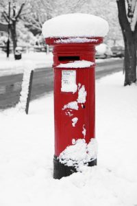 Winter Letter Box